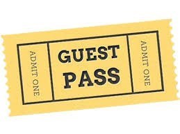 Book of 10 Guest Passes